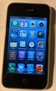 Apple iPhone 3GS - 16GB - White (AT&T) A1303 (GSM) Fast Ship Fair to Good Used