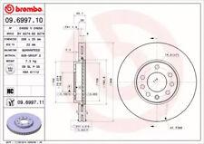 Brake Disc A.B.S. 09.6997.11