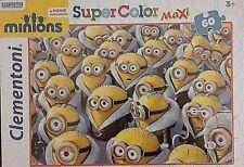 Puzzle Minions Clementoni immagini assortite Giochi da tavolo Bambini Rompicapo.