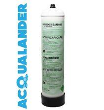 Bombola 500g Anidride carbonica CO2 usa getta Acquario Aquili Askoll Ruwal 10x1