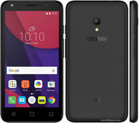 Alcatel Pixi 4 Black 5045Y 4GB 3G NFC Simfree Unlocked Android Mobile Smartphone