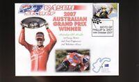 CASEY STONER 2007 DUCATI AUSTRALIAN MOTO GP WIN COVER 1