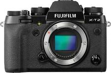 Fujifilm X-T2 Mirrorless Digital Camera Body ONLY 16519247 24.3MP WiFi Black