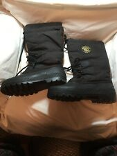 Western Chief Men's Size 10 (US) Winter Work Snow Boots Felt Lined Rubber Soles