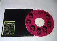 MISFITS LIVE 1981 RARE ONLY 300 COPIES PINK MARBLED LP DANZIG with FIEND STENCIL