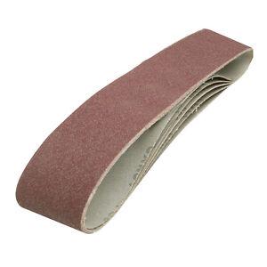 5 x Medium 80 Grit Sanding Sandpaper Belts Fits All 100 x 915mm Sanders