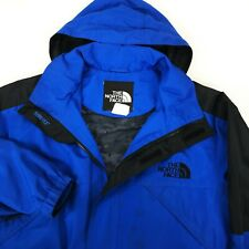 Men's The North Face GORE-TEX Jacket Blue Waterproof Casual Jacket Size - L
