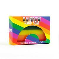 Tropical Scent Rainbow Hand Soap Pride Novelty Gift Stocking Filler