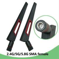 Antenna RP-SMA Real 10DBi Dual Band Antenne 2.4G 5G 5.8G WIFI Antenna Sale