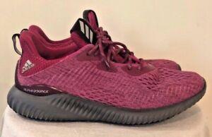 Womens adidas Alpha Bounce Running Shoes Color Raspberry Sz. 8