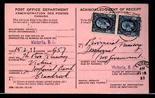 MOTO Cranbrook, B. C. 1933 Medallion AR card Canada