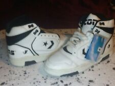 1988 White/Black Hi Top Cons Erx 150 Size 8 1/2 Made in Taiwan ,