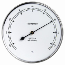 Fischer Thermometer 103mm Made in Germany