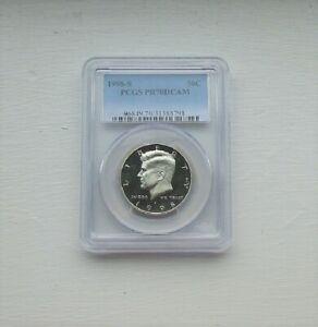 'Kennedy' Half Dollar - 1998 S - PR70 -D Cameo - PCGS