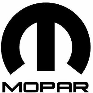 "Mopar Logo 3"" Window Vinyl Car Decal Sticker Dodge -Pick a Color"