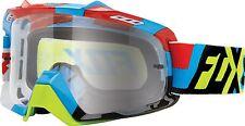 2016 Fox Racing Air Space Division MX Motocross ATV Goggles BLUE/YEL 15346-901