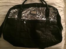 Juicy Couture Sequin Bling Overnight Bag Duffle Gym Bag