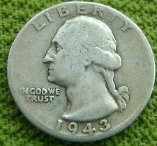 USA - Amerika 1943 Washington Quarter Dollar, 25 cents 1943 - KM# 164