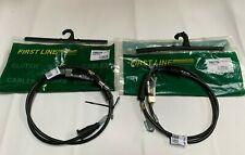 for PT Cruiser (PT_) 2002-2010 Handbrake Cable Left & Right REAR Set