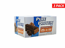 Pure Protein Bar, Chocolate Peanut Butter - 1.76oz each - W/ COLD PACK - 3 Boxes