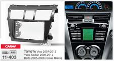 CARAV 11-403 Car Stereo CD/DVD Facia Panel Frame Plate 2 DIN for TOYOTA Vios