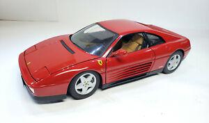 Ferrari 348 TS Elite Edition Red 1/18 Limited Edition by Diecast Hotwheels
