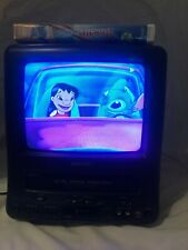 """Sansui TV VCR VHS Tape Player Combo CRT 13"""" COM0960 Retro Gaming Fast Shipping"""