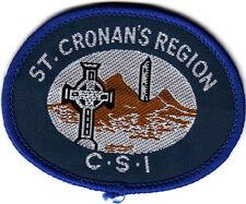 Boy Scout Badge Ext ST CRONAN`S REGION CSI IRELAND