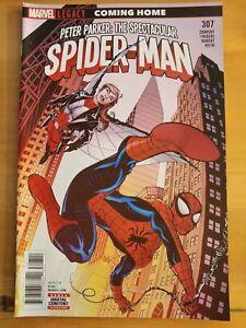 PETER PARKER, Spetacular SPIDER-MAN #307 (2018 MARVEL Comics) ~ VF/NM Book