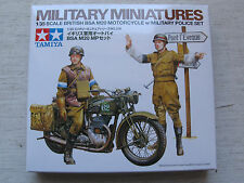 Tamiya 35316 British BSA M20 Motorcycle w/Military Police Set 1:35 Kombiversand