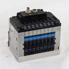 FESTO CPV10 8 Valve Pneumatic Solenoid Block