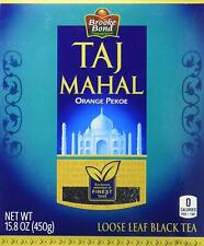 Brooke Bond Taj Mahal Orange Pekoe Black Tea, 450 Gram -Frsh Stock -USA Seller