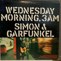 "SIMON & GARFUNKEL - Wednesday Morning, 3AM - 12"" Vinyl Record LP - VG+"