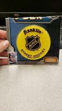 Franklin Sports Nhl Street Roller Hockey Puck - Yellow