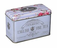 NEW ENGLISH TEAS  EARL GREY TEA IN MEMORABILIA GIFT TIN - 40 TEA BAG