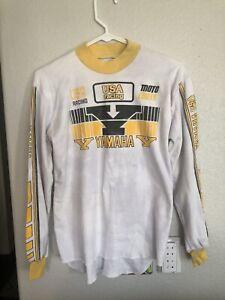 Vintage Yamaha Jersey Motocross Motorcycle Racing Shirt USA Factory Racing