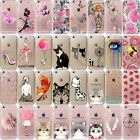Cute Cat Girl Ultra Thin Soft Clear TPU Phone Case Cover For iPhone 7 6 Plus 5