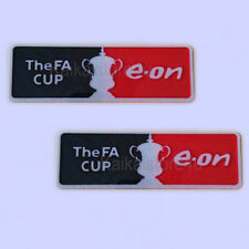 FA Cup e on 2007-2011 Sleeve Soccer Patch / Flock Football Badges