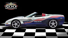 1 2000s Indy Racing 500 Race Vette Corvette Chevy Sport Car 12 Carousel White 18