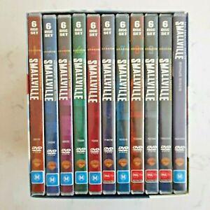 Smallville: Complete Series Box Set 62 Disc DVD (Region 4)