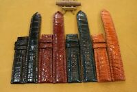 Handmade Crocodile Alligator Hand Skin Leather Watch Strap Band 18mm/24mm