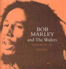 Bob Marley & The Wailers(4CD Album Box Set)The Early Years 1969-1973-Tr-New
