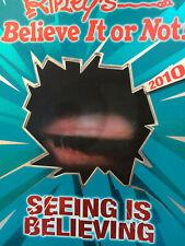9781847945853Ripley's Believe it or not! Seeing is believing 2010