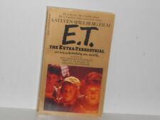 """Vtg. """"ET"""" by William Kotzwinkle / Steven Spielberg Paperback Novel"""