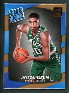 2017-18 JAYSON TATUM PANINI DONRUSS RATED ROOKIE RC #198