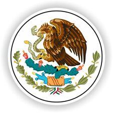 Mexico Escudo De Armas pegatina de parachoques etiqueta del vinilo Bicicleta pegatina coche Laptop Tablet