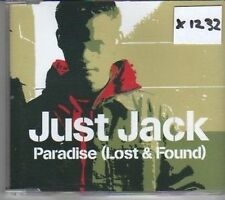 (CK772) Just Jack, Paradise (Lost & Found) - 2002 CD