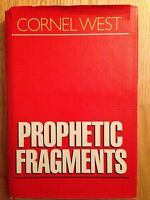 Prophetic Fragments by Cornel West First Edition 1st Signed / Inscribed RARE