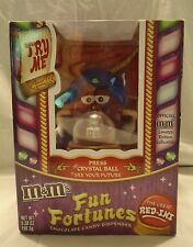 """M & M """"THE GREAT RED-INI"""" CANDY DISPENSER NEW IN BOX (NEVER BEEN USED)"""