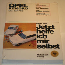 Reparaturanleitung Opel Rekord P1, P2, A + B - Baujahre 1957 - 1965